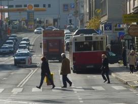 Gersthoferstraße Fußgänger